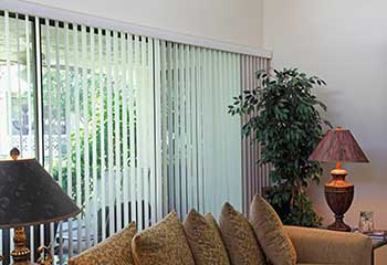 Vertical Blinds Project | Irvine Blinds & Shades, LA